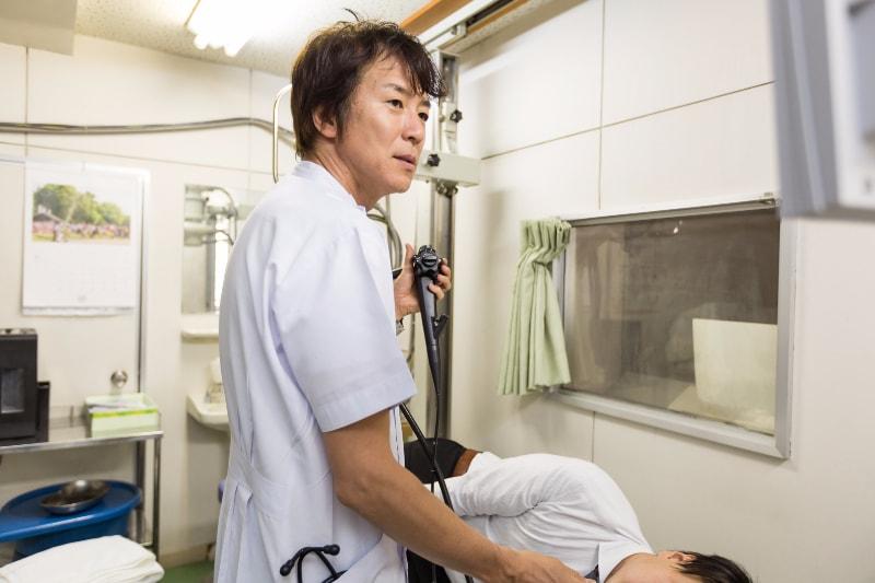 患者さまの苦しさを減らす工夫